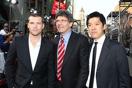 Terminator star Sam Worthington (left)