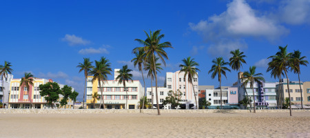 Old and new: South Beach's art deco buildings have thankfully survived the regeneration project