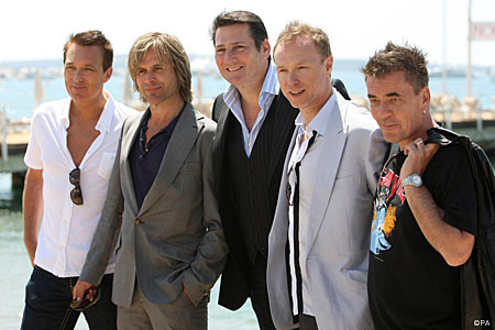 Spandau Ballet in Cannes to soak up the party atmosphere