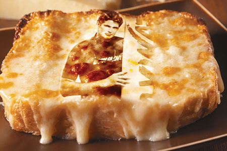 The Hoff in cheese
