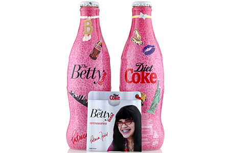 The Betty Bottle was inspired by Ugly Betty and designed by Patricia Field