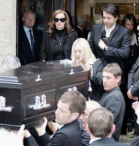 Tony Wilson funeral