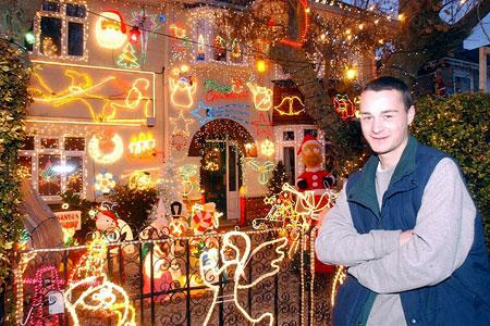 Christmas lights Alex Goodhind