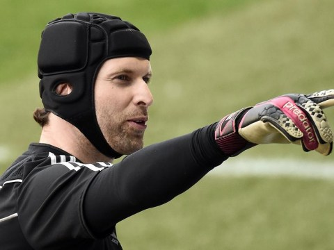 Petr Cech tells Thibaut Courtois he's not afraid of competition at Chelsea