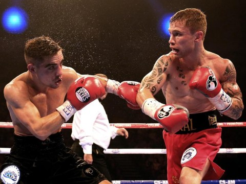 Carl Frampton can secure a world title opportunity by beating Fidel Cazares in Belfast