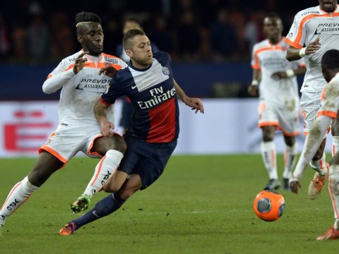 PSG star Jeremy Menez to miss Champions League clash with Chelsea after falling ill at Javier Pastore's barbecue