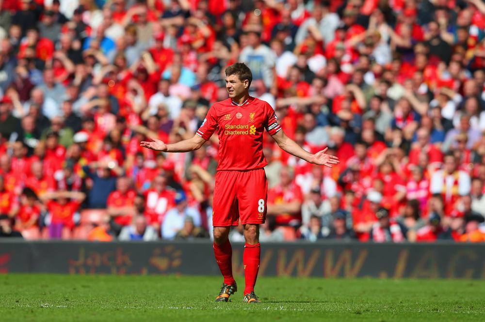 Steven Gerrard slip has turned Liverpool Premier League title dream into a nightmare