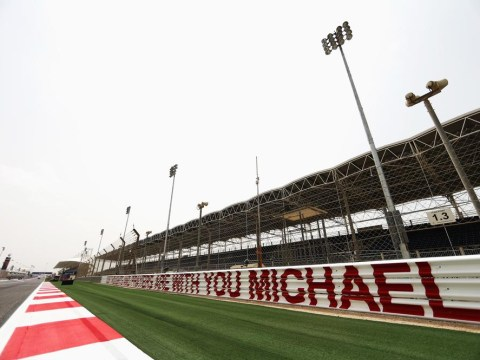 Michael Schumacher showing 'moments of consciousness and awakening' as Bahrain F1 circuit tribute revealed