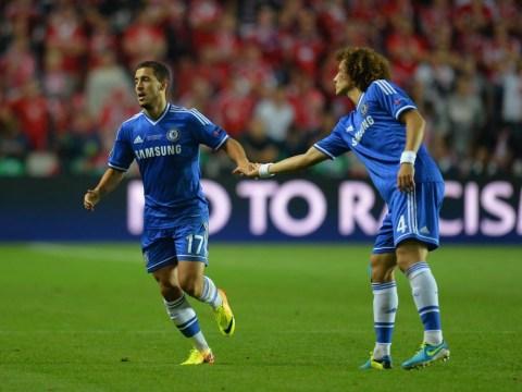 Eden Hazard pinched David Luiz's free-kick after allowing Chelsea team-mate to take epic run-up