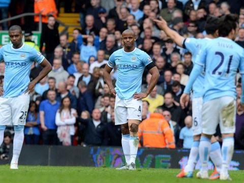 Manchester City undone by a costly mistake from Vincent Kompany at Liverpool to leave questions over their title hopes
