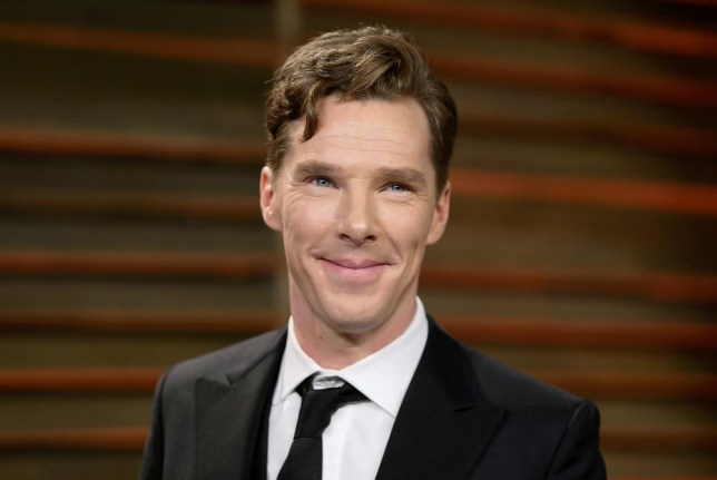 REFILE - CORRECTING DATE Actor Benedict Cumberbatch smiles as he arrives at the 2014 Vanity Fair Oscars Party in West Hollywood, California March 3, 2014. REUTERS/Danny Moloshok (UNITED STATES - Tags: ENTERTAINMENT HEADSHOT)(OSCARS-PARTIES) Danny Moloshok/Reuters