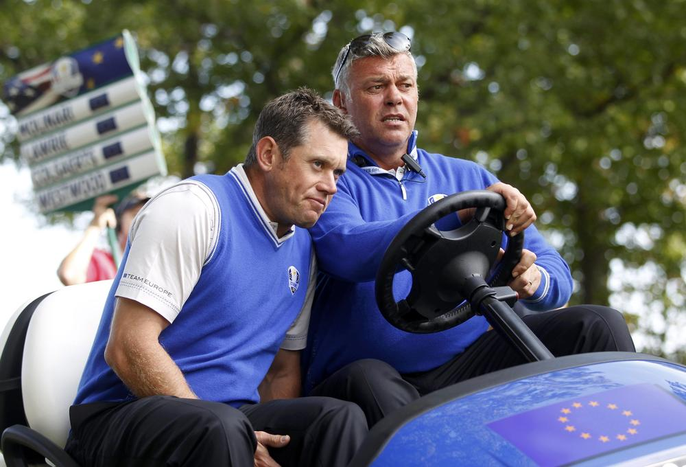 Lee Westwood and Darren Clarke strike Par 3 major wager ahead of Masters 2014