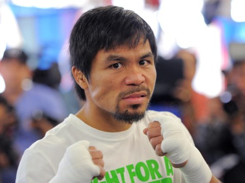 Manny Pacquiao is still itching to fight Floyd Mayweather Jr in a multi-million dollar bust-up