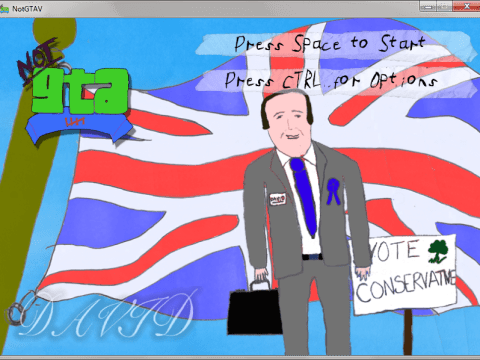 Play as David Cameron in NotGTAV – the first GTA set in Swindon