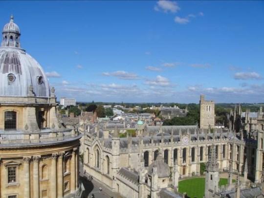 (Picture: Oxford City Guide)