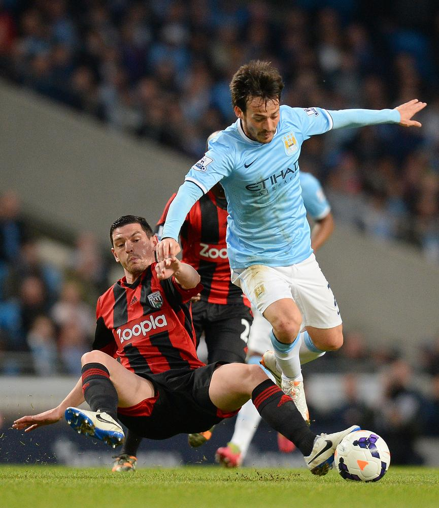 Why David Silva's absence is a huge blow to Manchester City's title hopes