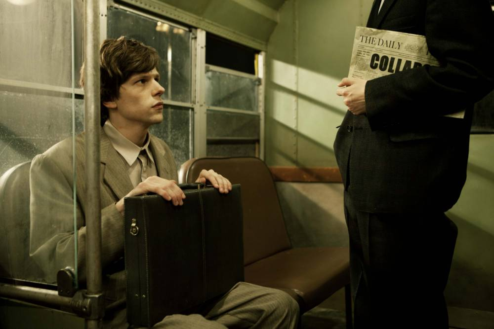 The Double: Richard Ayoade and Jesse Eisenberg's curiosity is downbeat and tricksy