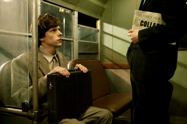 Jesse Eisenberg is a man of two parts in The Double (Picture: Dean Rogers)