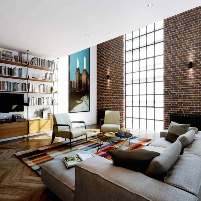 The new properties at Battersea Power Station start at £800,000 (Picture: supplied)