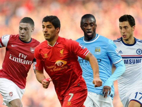 The four matches which will decide the Premier League title race