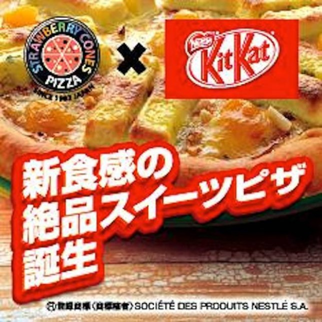 Fancy a Kit Kat pizza for lunch? (Picture: Europics)