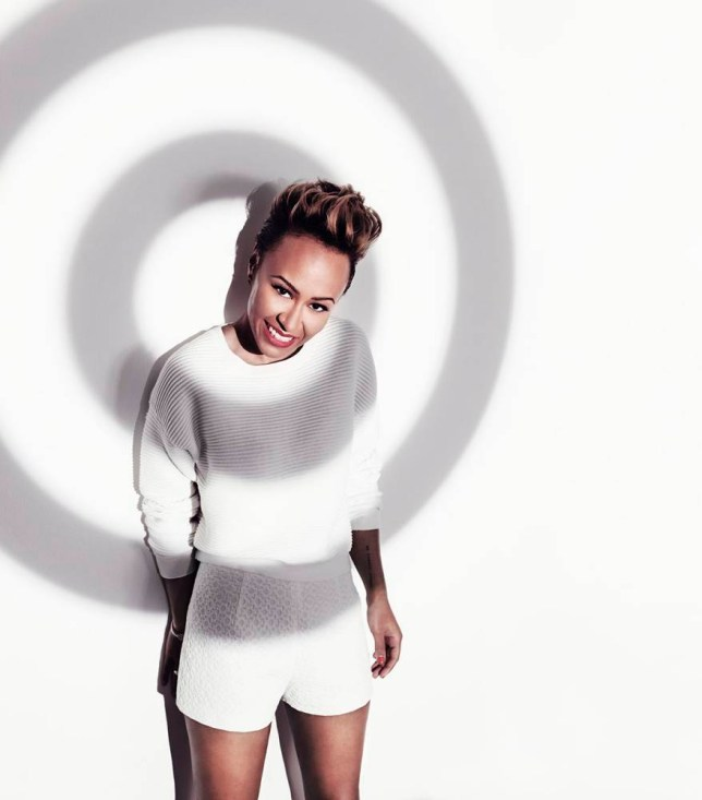 Emeli Sande shows her support (Picture: Fashion Targets Breast Cancer)