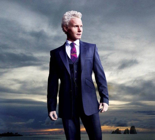Rhydian Roberts says his family are proud now but did have doubts about him going on The X Factor (Picture: David Angel/Design Ryan Art)