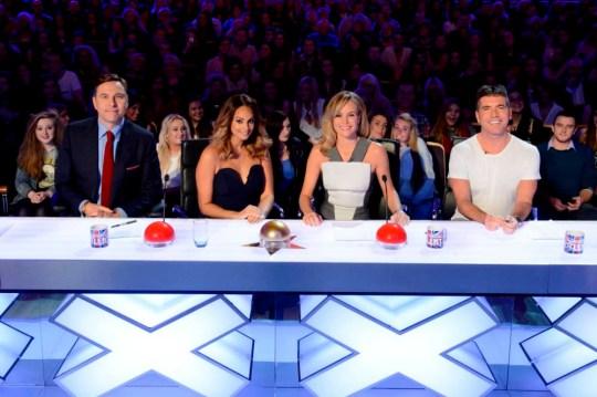 David Walliams, Alesha Dixon, AManda Holden, Simon Cowell on Britain's Got Talent 2014