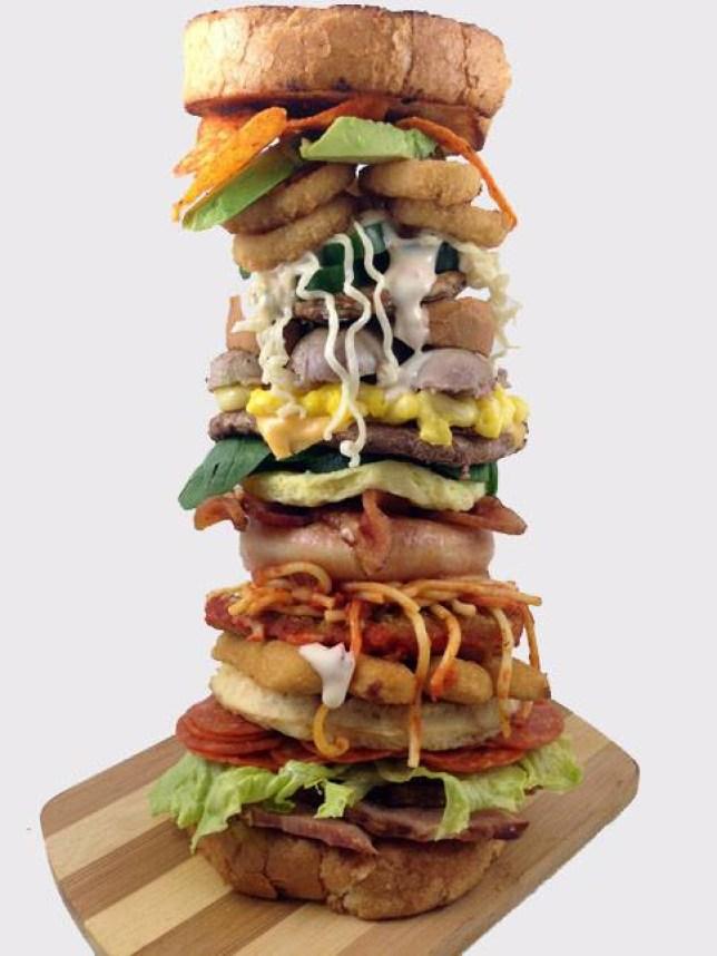 Alphabet Sandwich: Dude Foods blogger Nick Chapman creates A-Z snack