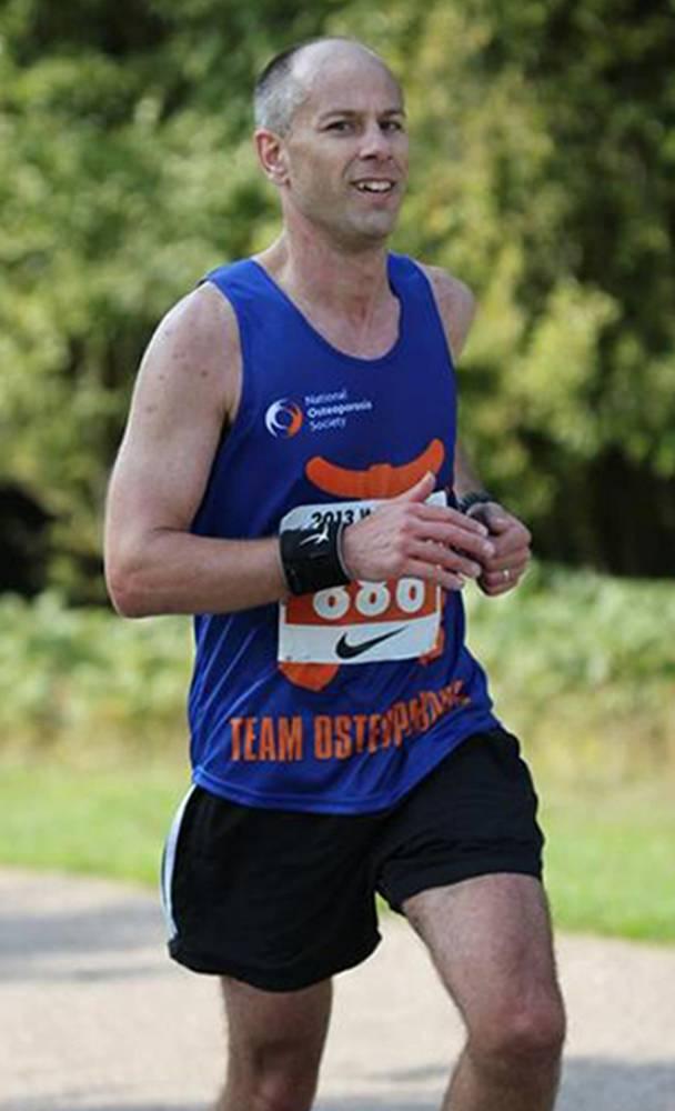 London marathon runner who died wrote of 'big struggle'