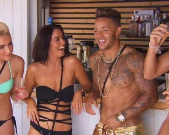 Vicky Pattison and Ashley Cain on Ex On The Beach