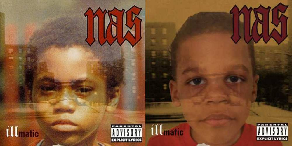 Creative Dad Recreates Classic Album Covers With His Two Sonsnncredit QT albums and link back to nnhttp://qtalbumcover.tumblr.com/