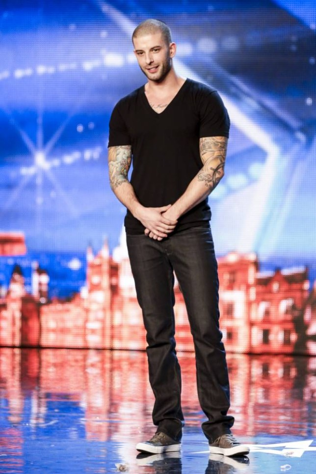 Britain's Got Talent 2014: Darcy Oake admits he is trying