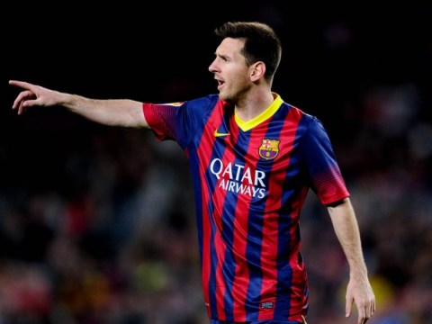 Lionel Messi's thunderous free-kick keeps Barcelona in title race with victory over Athletic Bilbao – video