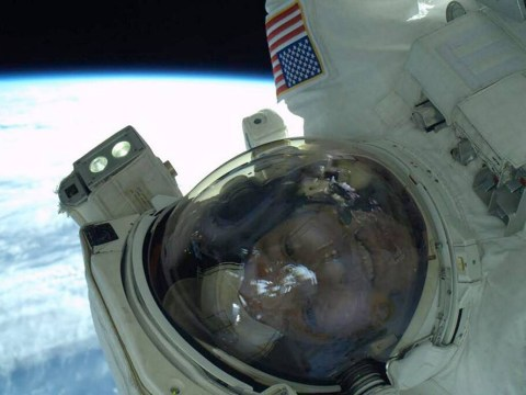 Astronaut Rick Mastracchio's selfie is literally out of this world