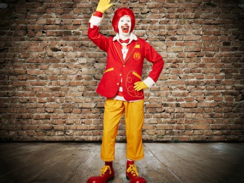 Ronald MacDonald's 'trendy' makeover isn't very impressive
