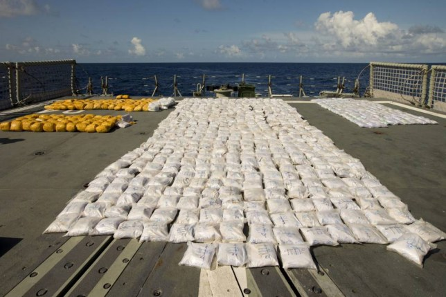 HMAS Darwin seizes tonne ofheroin worth £160m in Indian Ocean