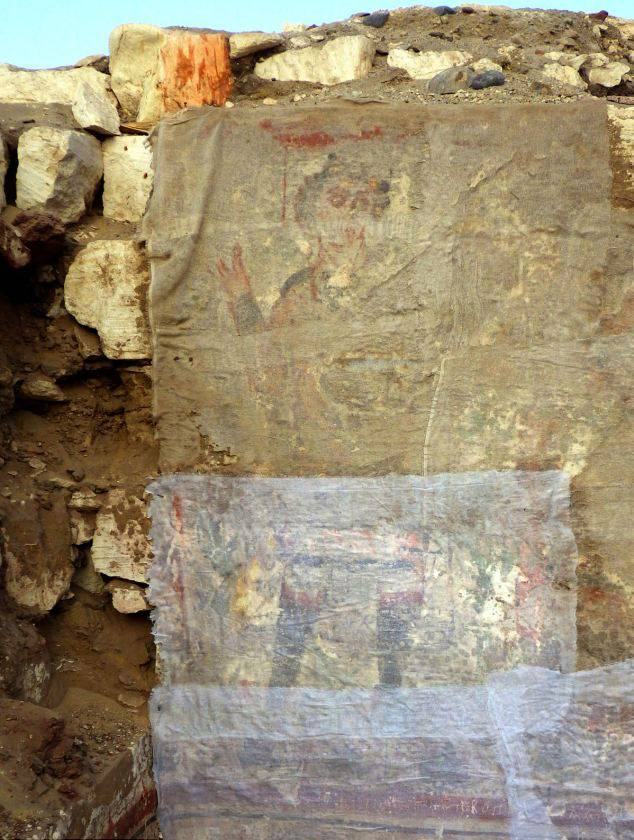 'Early image of Jesus' found in the remains of ancient Egyptian tomb