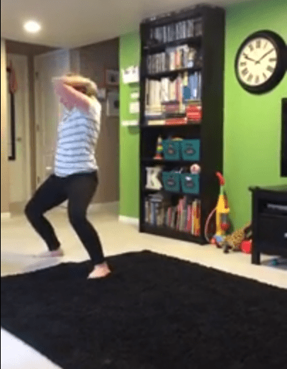 Her moves are nothing like Jaggers. At all. (Picture: Summer Knowlden/ Youtube)