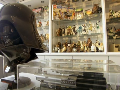 We want everything in this man's 35,000 piece Star Wars collection
