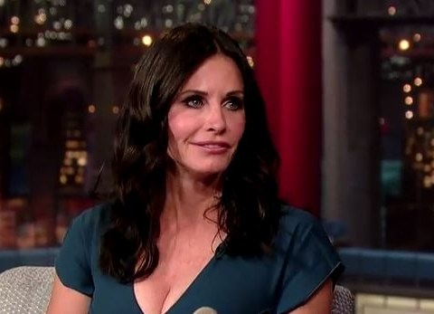 Courteney Cox weighs in on Friends reunion during Late Show with David Letterman