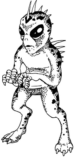 An illustration of the mythical chupacabra (Picture: LeCire/ Wikipedia)