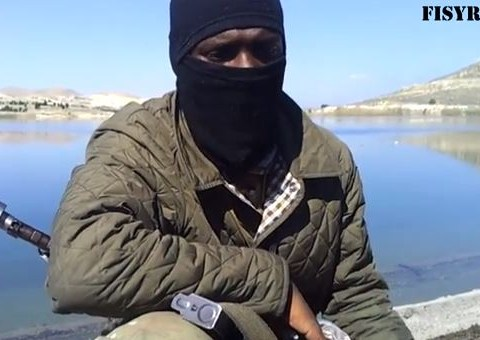 'Former Arsenal player' films jihad video and urges others to join him in Syria