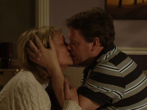 What even?: EastEnders' Ian and Jane shock everyone by locking lips