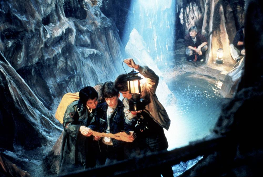 Hey you guys! A Goonies sequel is in the works