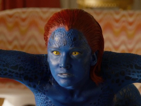 Watch Jennifer Lawrence's mutant alter ego emerge in this exclusive clip from X-Men: Days Of Future Past