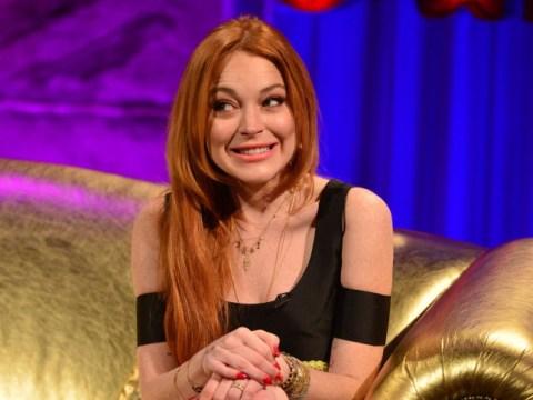 Lindsay Lohan goes on Chatty Man, isn't very chatty
