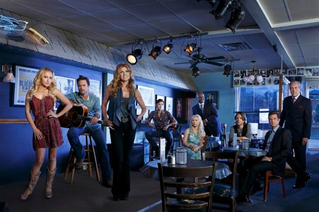 The cast of TV series Nashville (Picture: ABC)