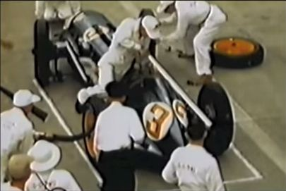 Formula One pit stops: 1950s v modern day – they're a bit different…