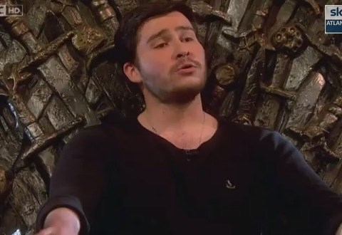 Let Game of Thrones' Podrick Payne soothe you with his rendition of The Rains of Castamere